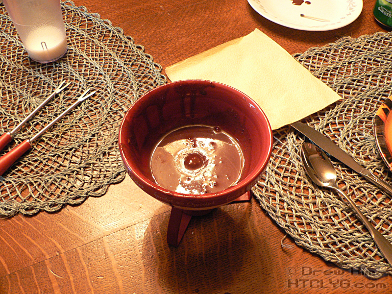 chocolate heaven fondue pot instructions