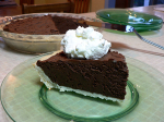 Frozen Chocolate Truffle Pie