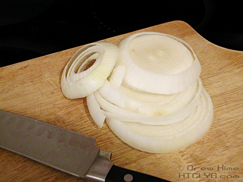 Since I Was Doing Two Sides Together I Decided To Do The Onion Low And Slow This Time So Start By Slicing The Onion Use Your Leftovers About A Half Inch