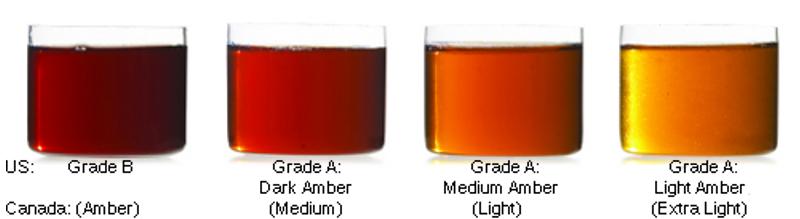 Résultats de recherche d'images pour «maple syrup grades No.1 Extra light»