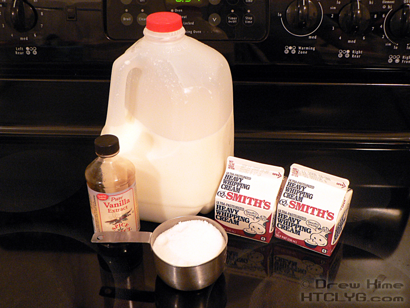How to make vanilla ice cream from scratch how to cook like your 1 cup heavy cream 34 cup sugar 1 2 teaspoons vanilla ccuart Images
