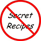 No Secret Recipes