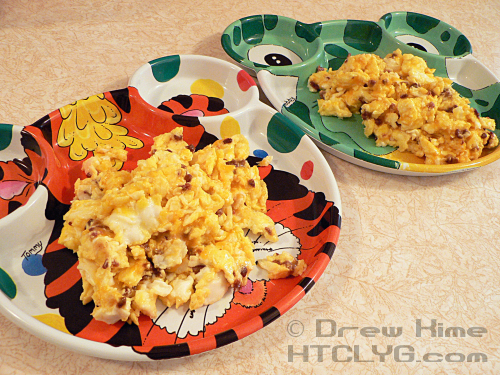 Scrambled Eggs With Prosciutto