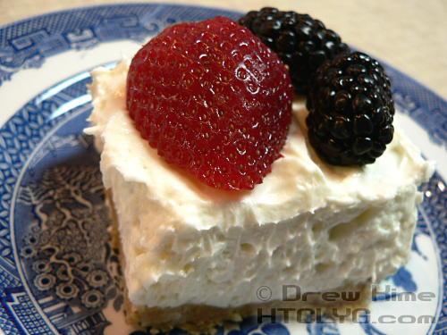 Emily's Creamy Cheesecake