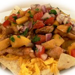 Chicken Nachos with Mango Salsa
