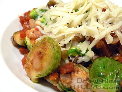 Brussels Sprouts Marinara