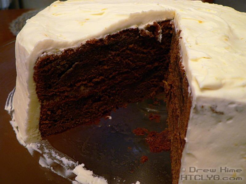 Chocolate Citrus Cake