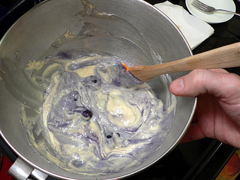 how to cook blueberry muffins