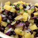 Pineapple & Black Bean Salsa