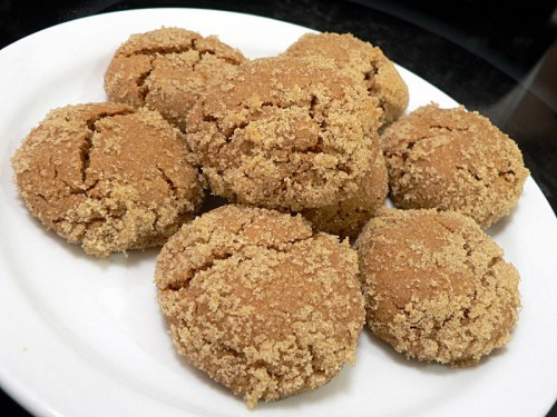 Soghum Molasses cookies