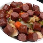 Roasted Root Vegetables with Kielbasa
