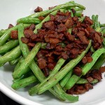 Fried Green Beans With Bacon