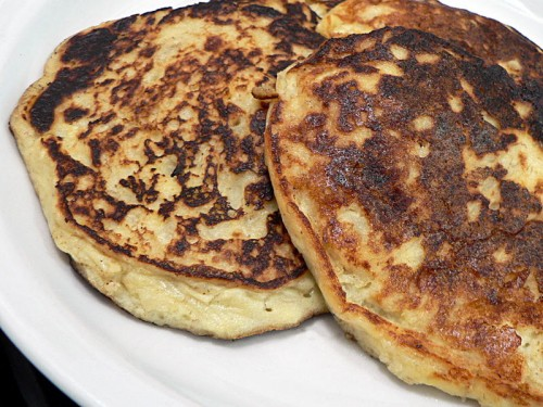 Potato Banana Pancakes