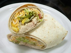 How To Make Mexican Chicken Wraps